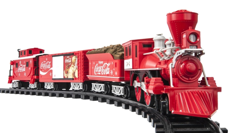 Trains Coca-Cola Holiday G-Gauge Train Set