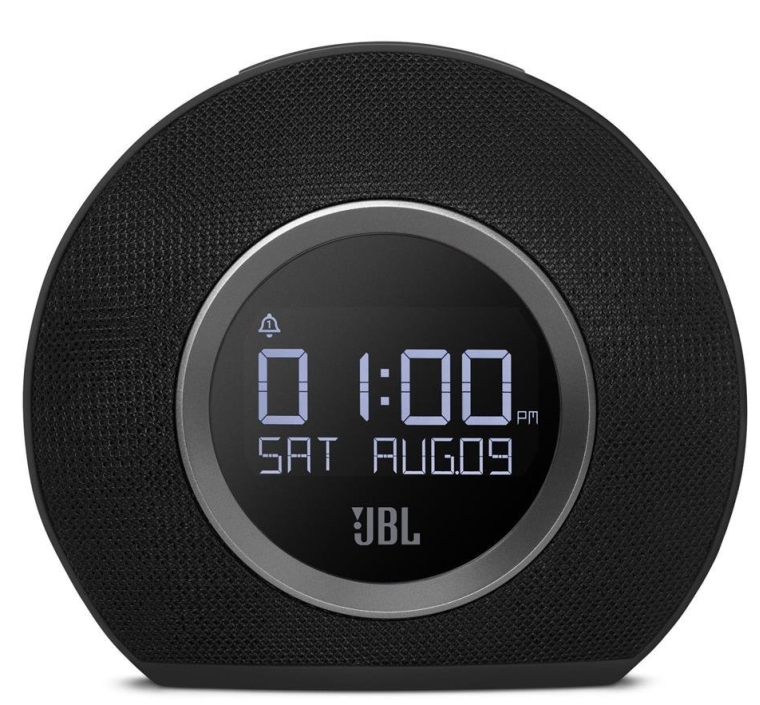 Bluetooth Clock Radio with USB Charging and Ambient Light