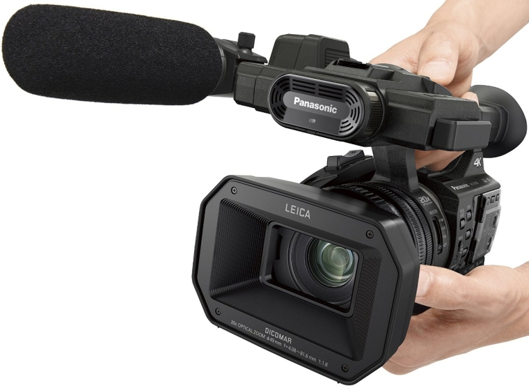 Camcorder with High-Powered 20x Optical Zoom and Professional Functions