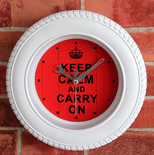 Creative Inspirational Tire Alarm Clock Home Decoration
