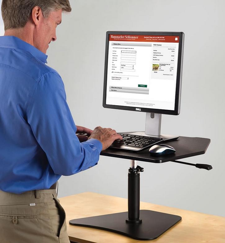 The Stand Up Workstation Platform