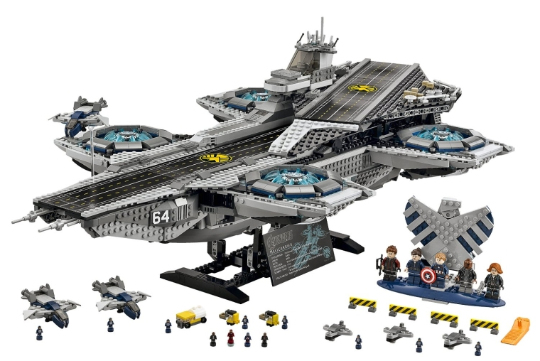 LEGO Superheroes The Shield Helicarrier