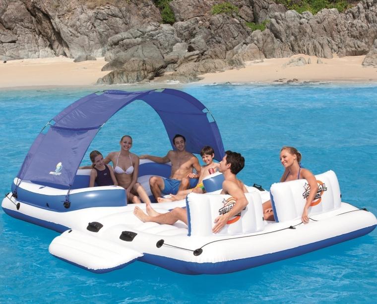 Bestway CoolerZ Tropical Breeze 6-Person Floating Island