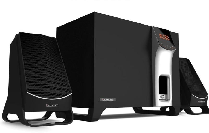 Boytone BT-3107F, Wireless Bluetooth Speaker Laptops