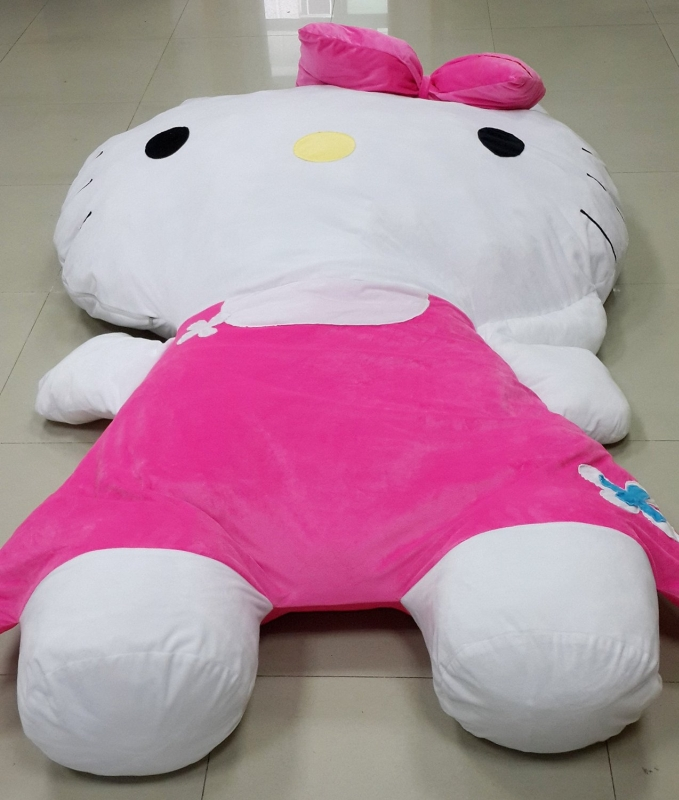 Cute Hello Kitty Sleeping Bag Sofa Bed Twin Bed Double Bed Mattress