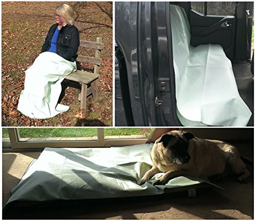 Insect Repellent Treated 80 Inch Long by 60 Inch Wide BlanketCover