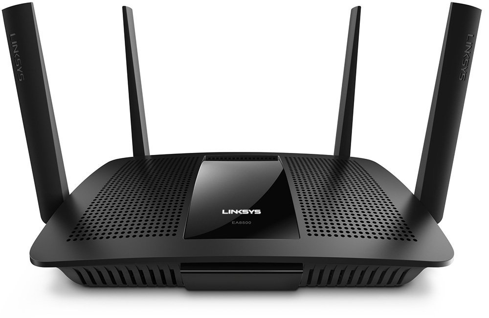 Linksys AC2600 4 x 4 MU-MIMO Dual-Band Gigabit Router with USB 3.0 and eSATA