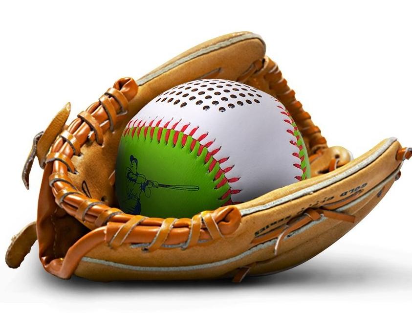 Portable Wireless Baseball Outdoor Bluetooth Speakers