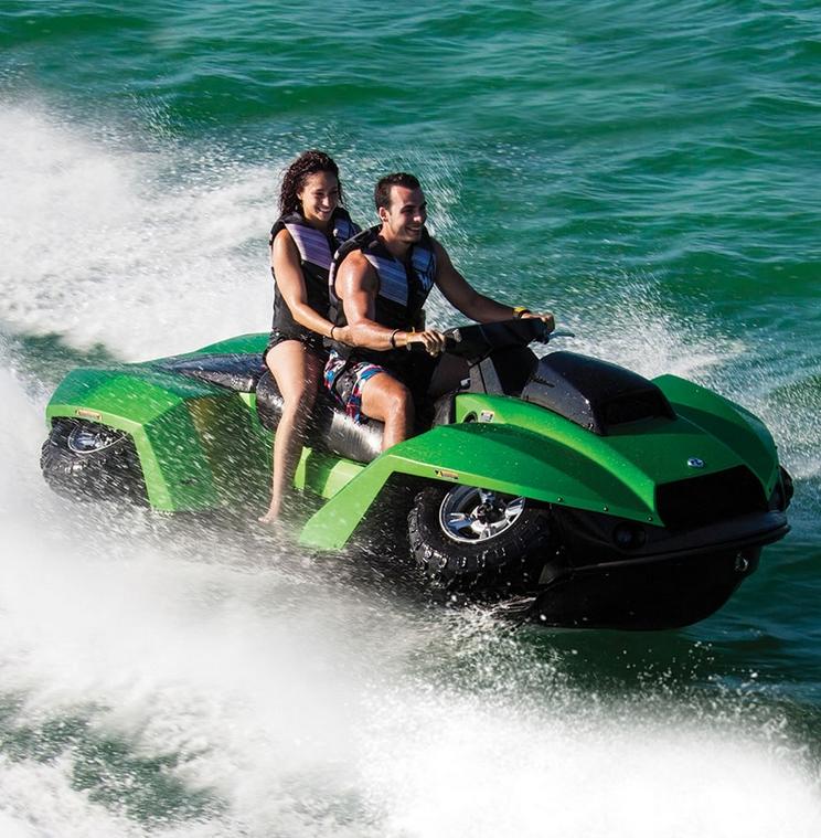 The Amphibious ATV