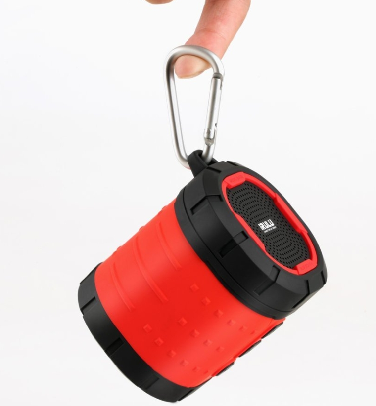 Waterproof Portable Bluetooth Speaker Built-in Microphone Rugged Rechargeable Wireless Outdoor