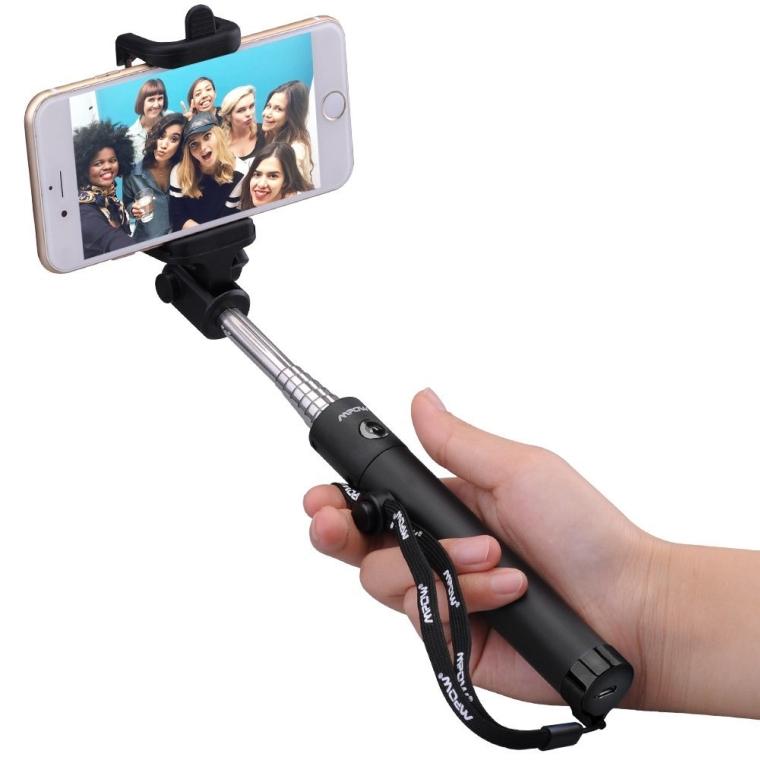 iSnap X One-piece U-Shape Self-portrait Monopod Extendable Selfie Stick