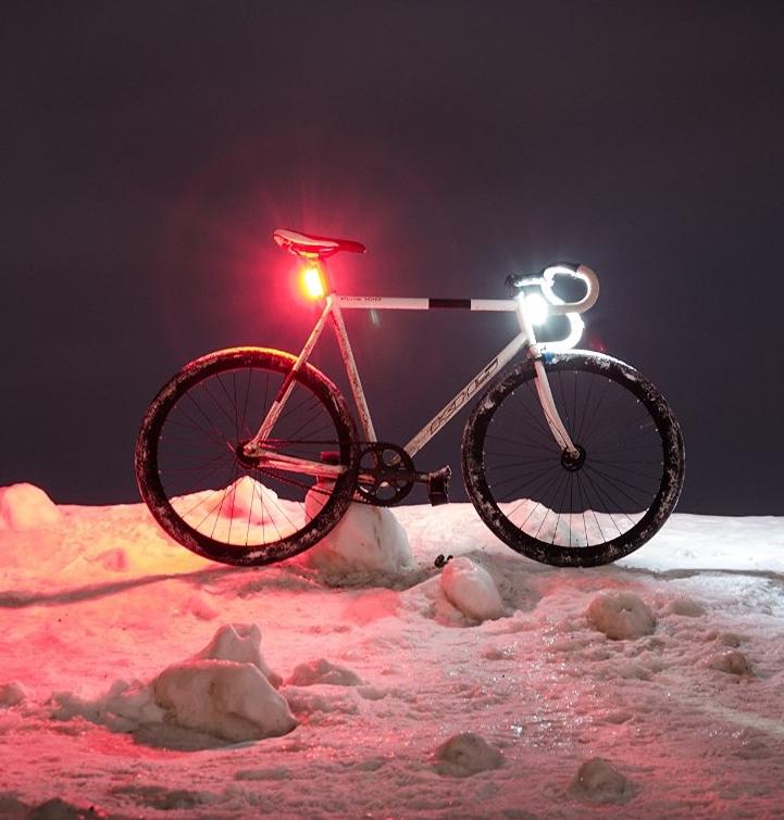 360 Degree Bike Headlight and Tail Light