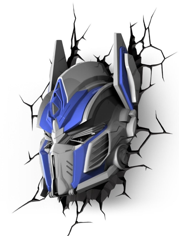 3D Deco Light Transformer Optimus Prime NightSafety Light
