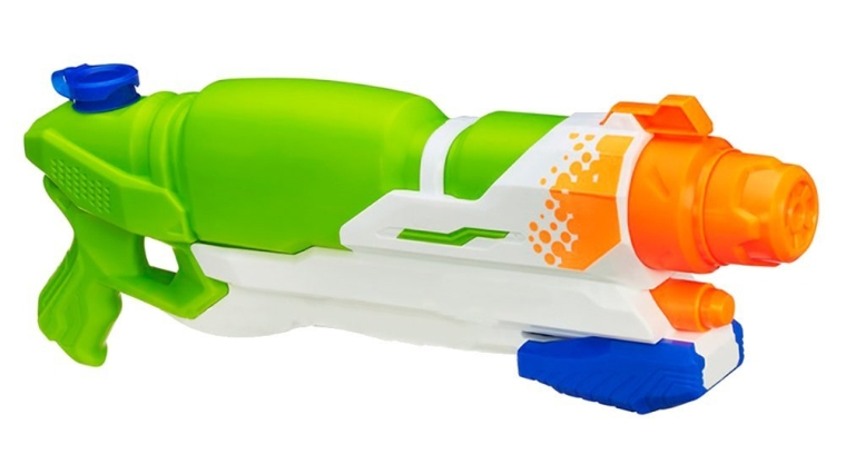 Air-powered Water Pistol Color Green