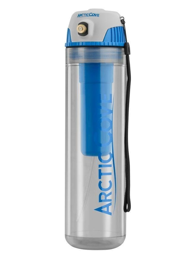Arctic Cove 16 Ounce Cordless Rechargeable Personal Misting-Cooling Bottle