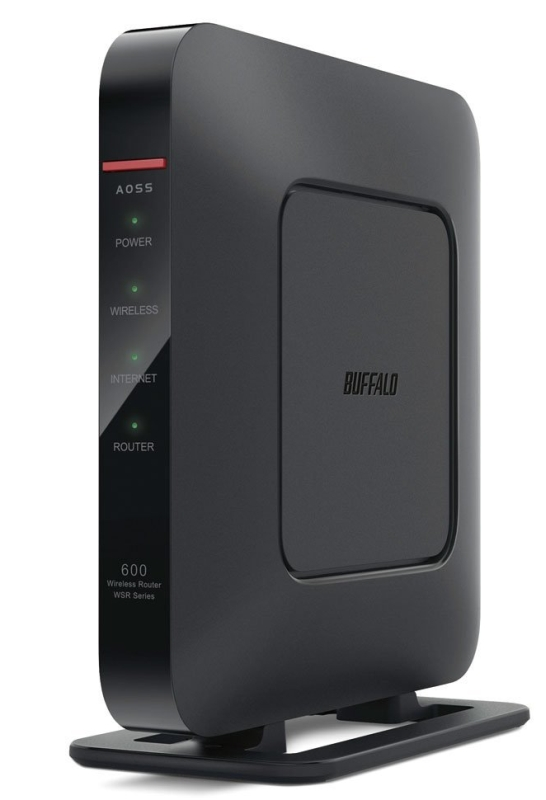 BUFFALO Air Station AC1200 Gigabit Dual Band Open Source  Wireless Router