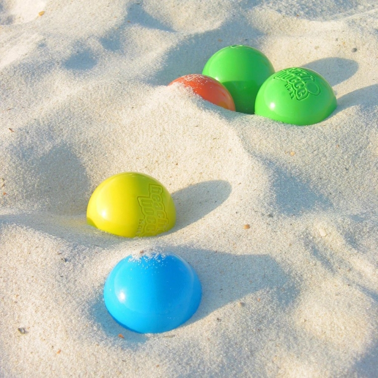 Beach Bocce Ball Set with Carrying Case