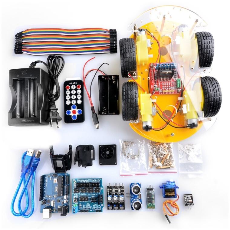 Gbargin Robot Car Kit for Arduino