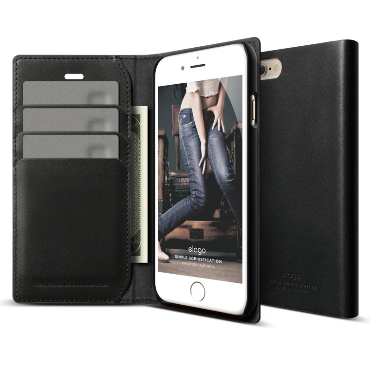 Genuine Leather Wallet Case for the iPhone 6