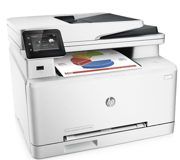 HP Color LaserJet Pro MFP M277dw Printer
