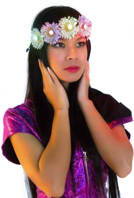 Light Up LED Flower Crown