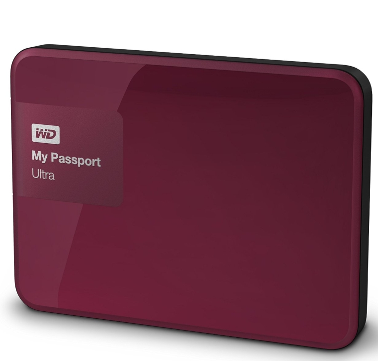 My Passport Ultra 2 TB Portable External Hard Drive