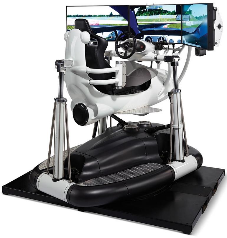 Realistic Racing Simulator