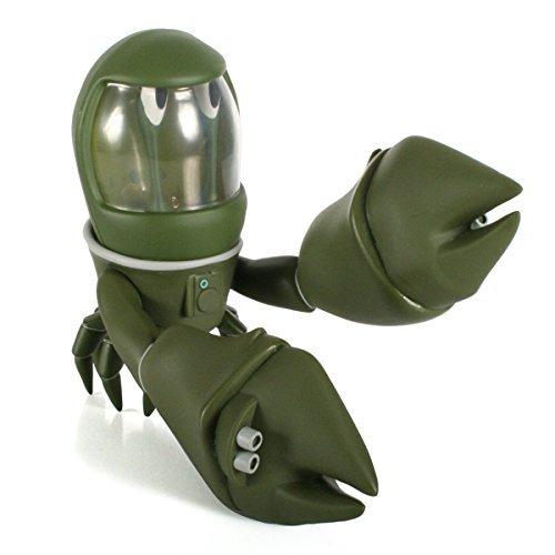 Space Crab Green Edition Designer Vinyl Figure