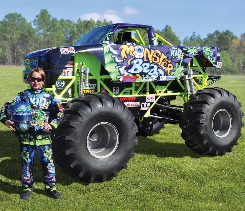 The Mini Monster Truck