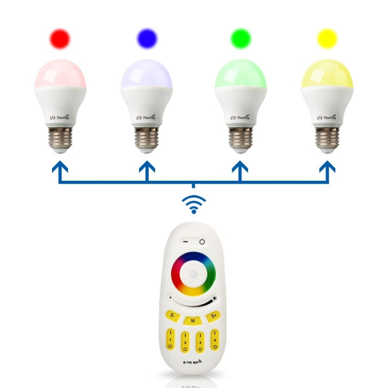ThorFire G1 Color Changing LED Blub RGB Dimmable Light