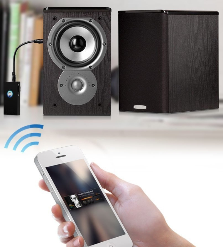 2-In-1 Wireless Bluetooth Audio receiver & TransmitterStereo Output