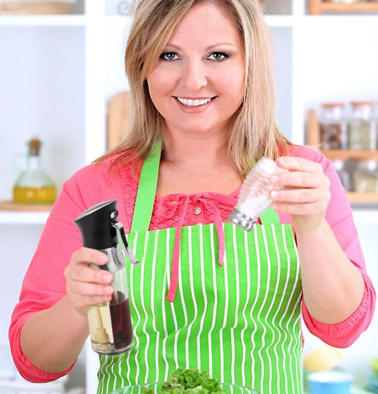 2 in 1 Olive Oil and Vinegar Sprayer