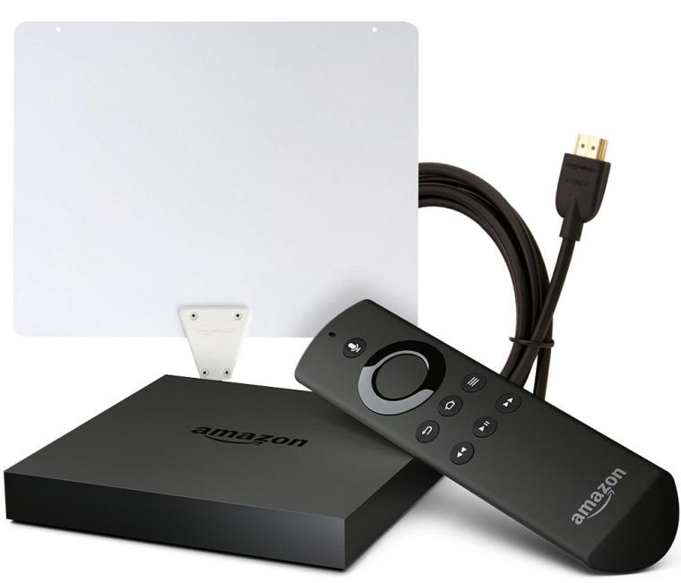 Amazon Fire TV + HD Antenna Bundle