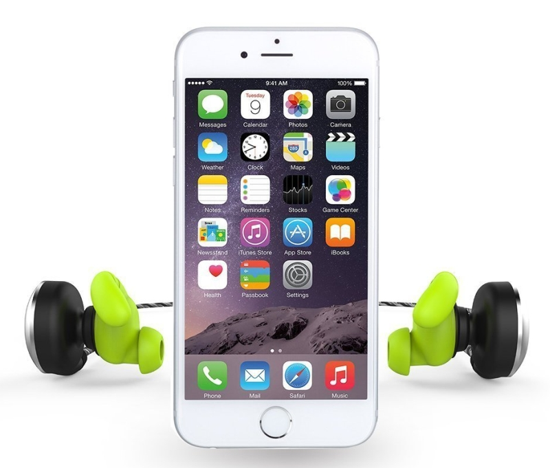 Bluetooth Wireless Headset Magnet Attraction V4.1 Sports Headphones
