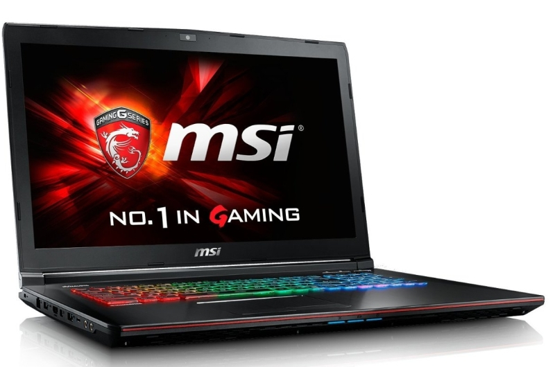 CUK MSI GE72 Apache 17.3-inch Intel Skylake i7-6700HQ 16GB 2TB HDD NVIDIA Geforce GTX 960M 2GB Full HD Windows 10 Gaming laptop
