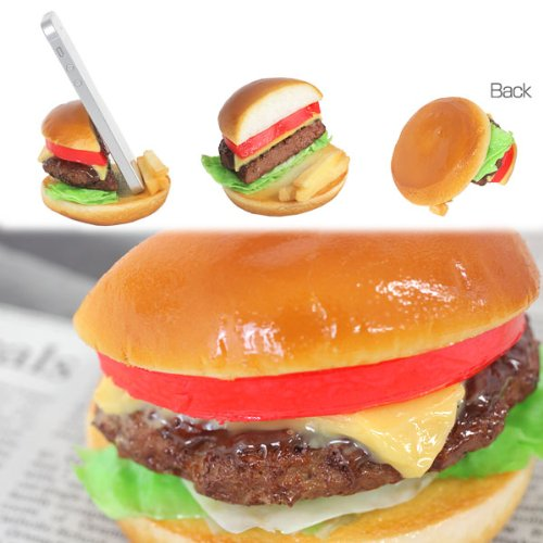 Cheese Burger Food Stands for Smartphone