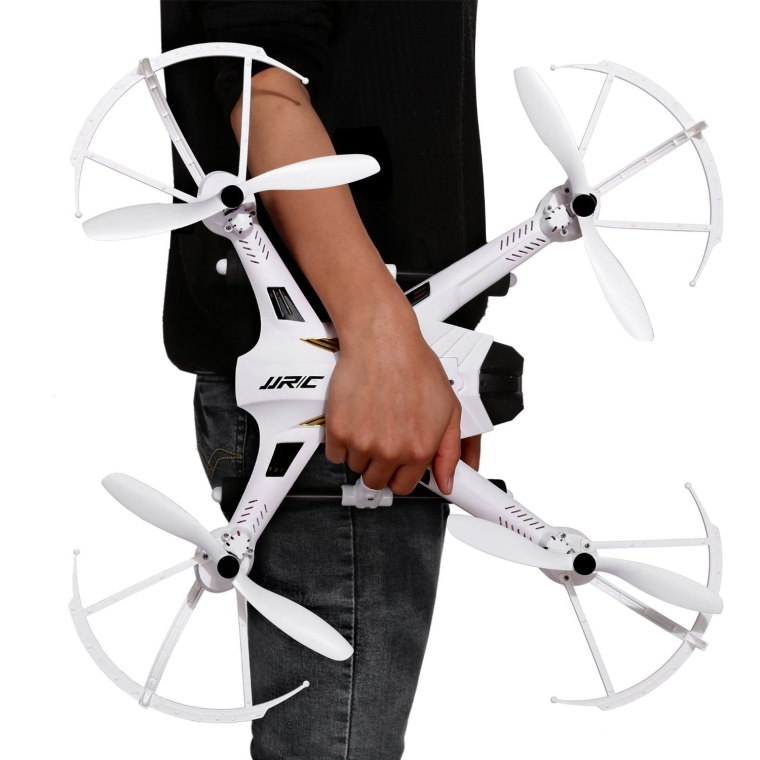 Headless Mode One Key Return RC Quadcopter Drone with 3MP Wide Angle Cam