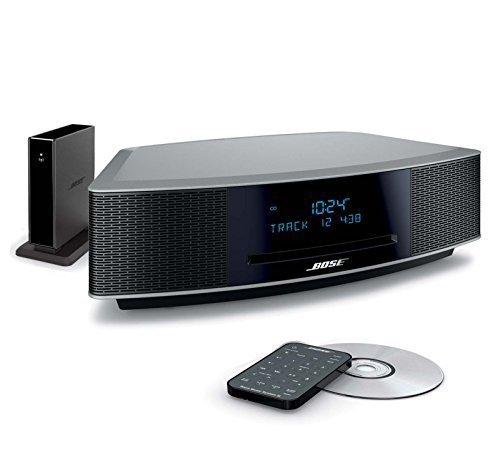 Music System IV Platinum Silver w Wave Bluetooth Adaptor II