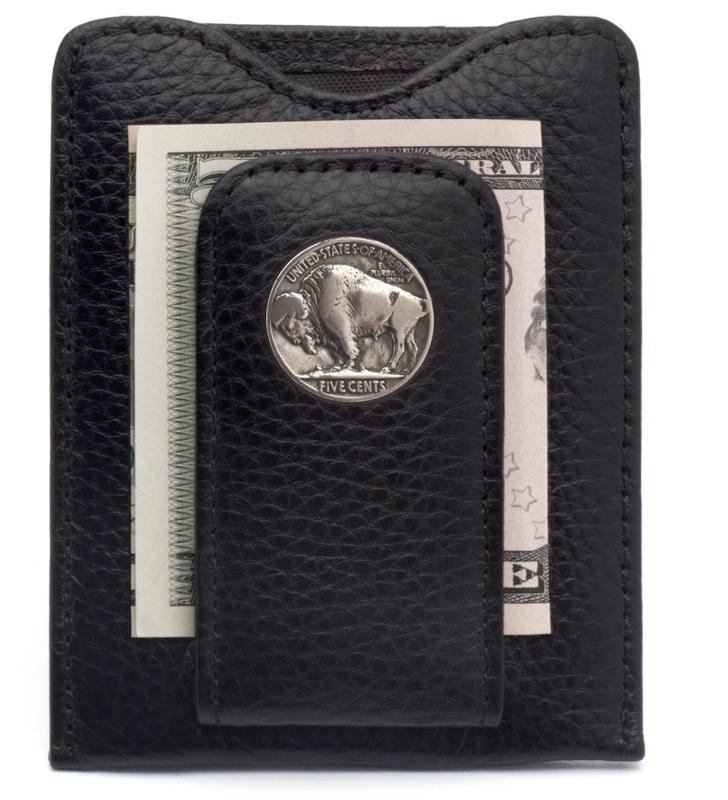 Nickel Money Clip Credit Card Wallet