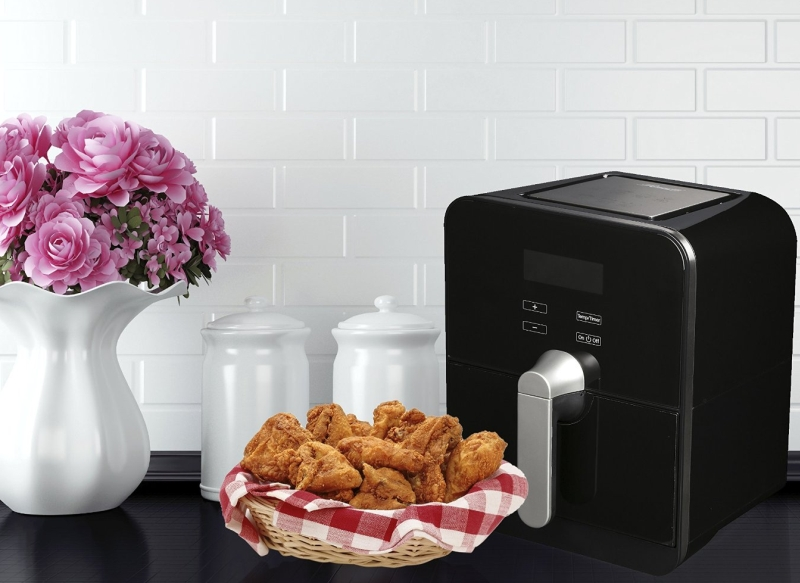 Oil Less 1100W Low Fat Air Fryer