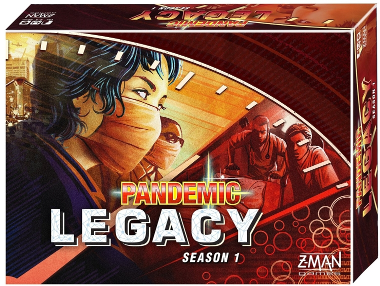 Pandemic Legacy Red Board Game