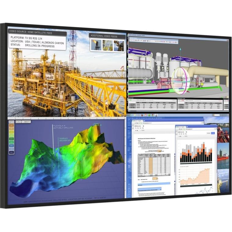 Planar Systems UR9850 Professional 4K 98 Display