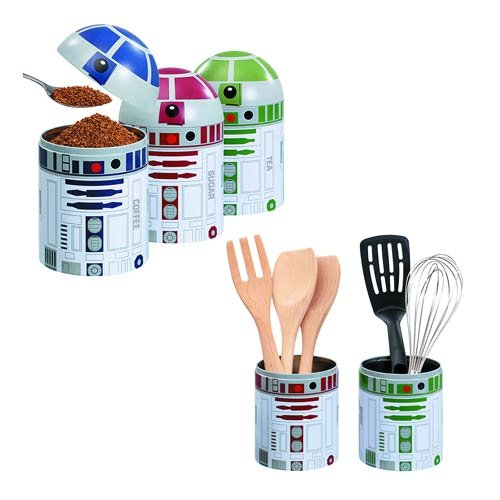 R2D2 Ceramic Novelty Kitchen Storage