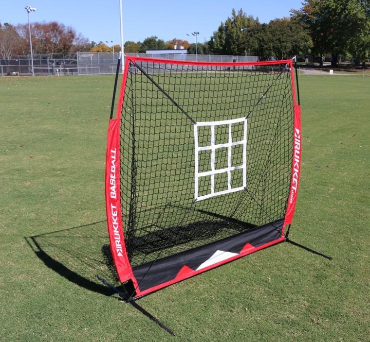 Rukket 5x5 Baseball & Softball Practice Net w Strike Zone Target