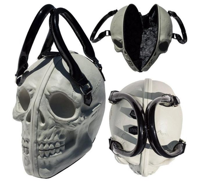Skull Collection Handbag Natural Glow