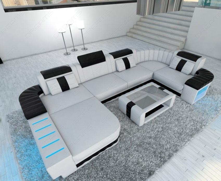 Sofa BELLAGIO LED U Shape