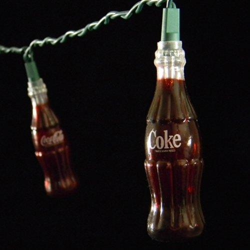 String Lights, 10 Coca Cola Bottles