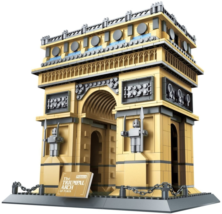 The Triumphal Arch of Paris