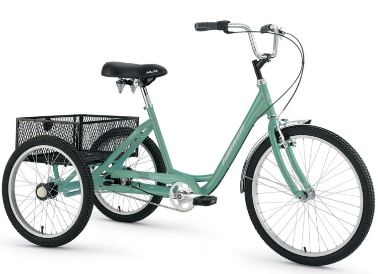 Torker 24 x 20 TriStar 2.1 Adult Trike 3 Speed CB Mint Green