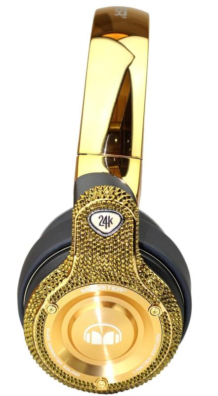 luxury fashion headphones with crystal SWAROVSKI ELEMENTS